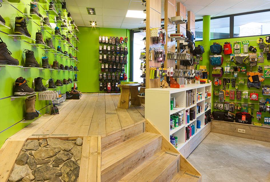 interieur schoenenwinkel